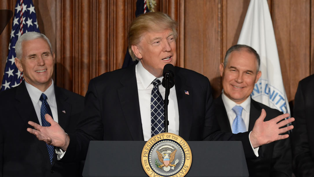 <h4>IN DEFENSE OF OUR WATER: THE EPA</h4><h5>In 2017, we helped block President Trump's move to end critical EPA clean water programs. Now we're working to stop the president and Congress from slashing more funds for clean water.</h5><em>US DOI photo</em>